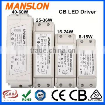 CB LED Driver, buy CB approved factory supply xiezhen LED driver