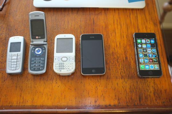 10 years of mobile phones