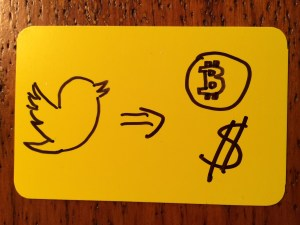 bank with tweets
