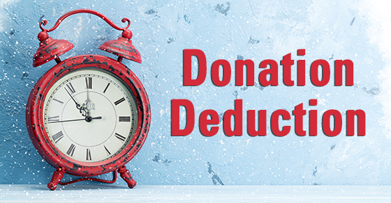 Check deductibility before making year-end charitable gifts Timpe CPAs