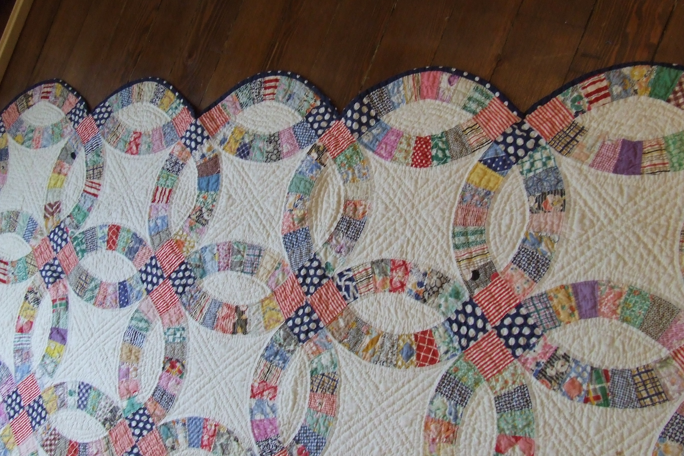 wedding ring quilt for sale wedding ring sale wedding ring quilt for sale