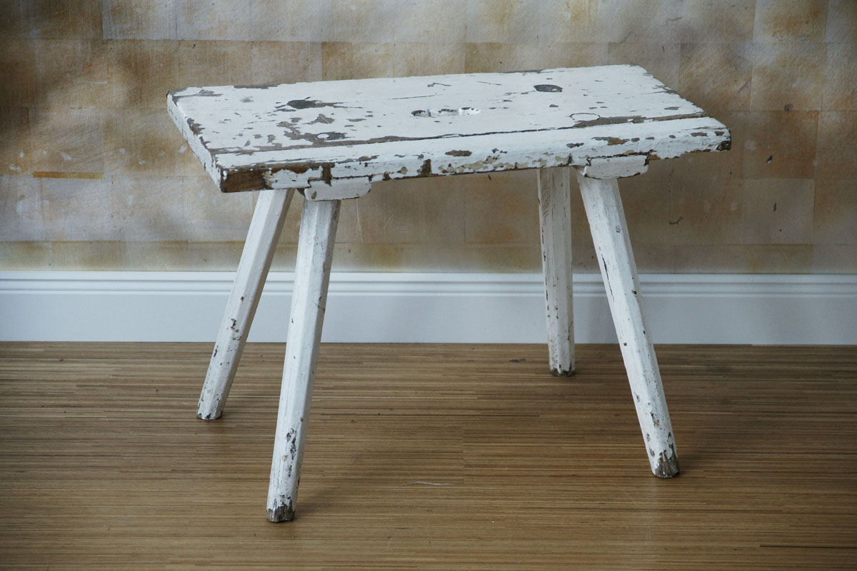 Schemel Hocker Schemel Shabby Hocker
