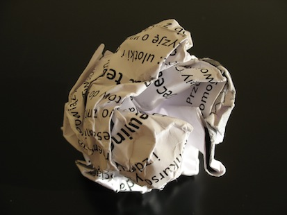 ball of paper
