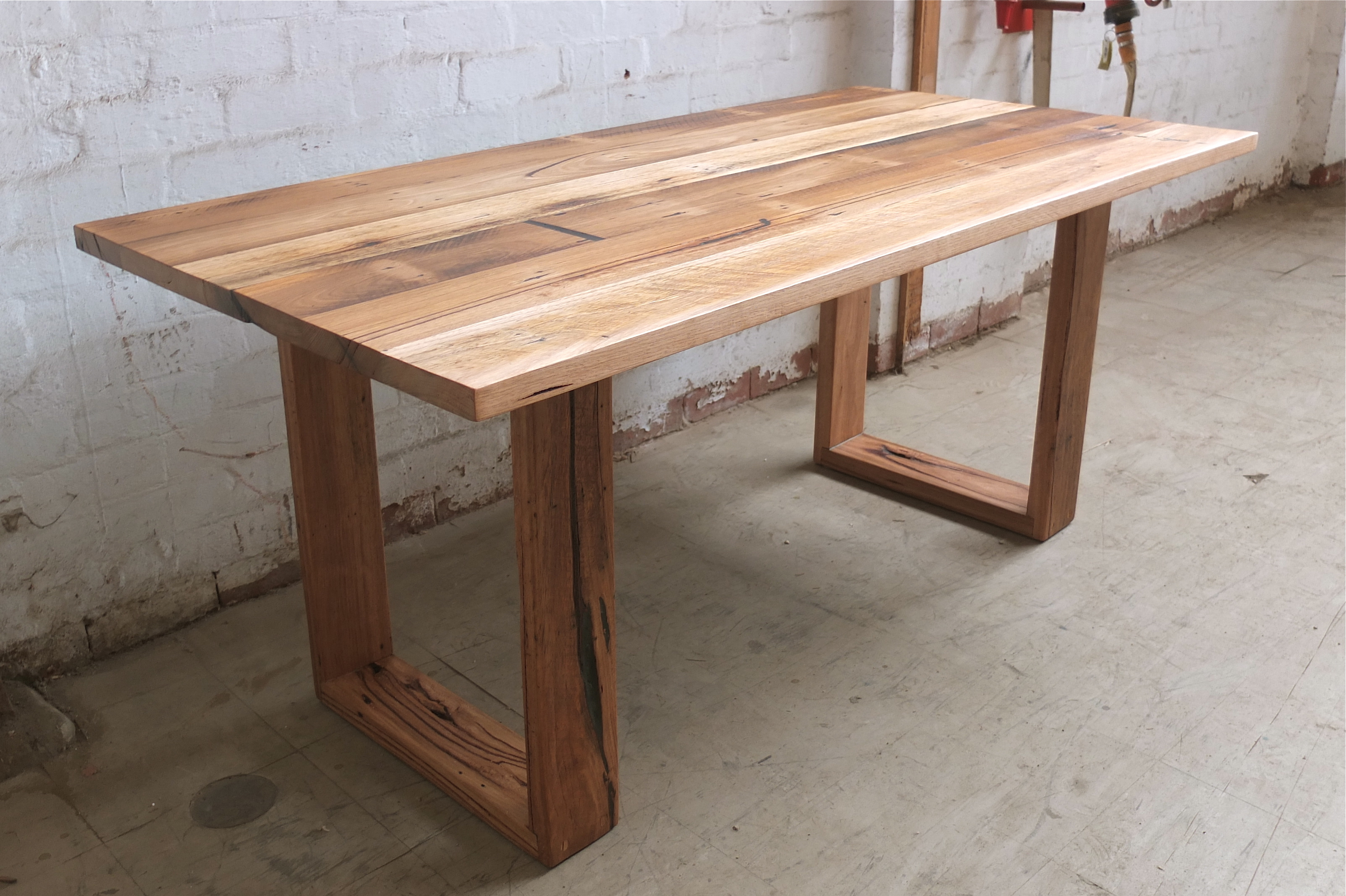 Round Timber Dining Table Recycled Timber Tables Tim T Design