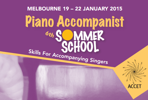 Piano Accompanist Summer School @ Xavier College  | Kew | Victoria | Australia