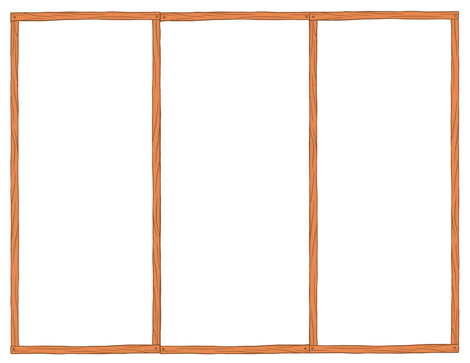 free printable blank brochure template