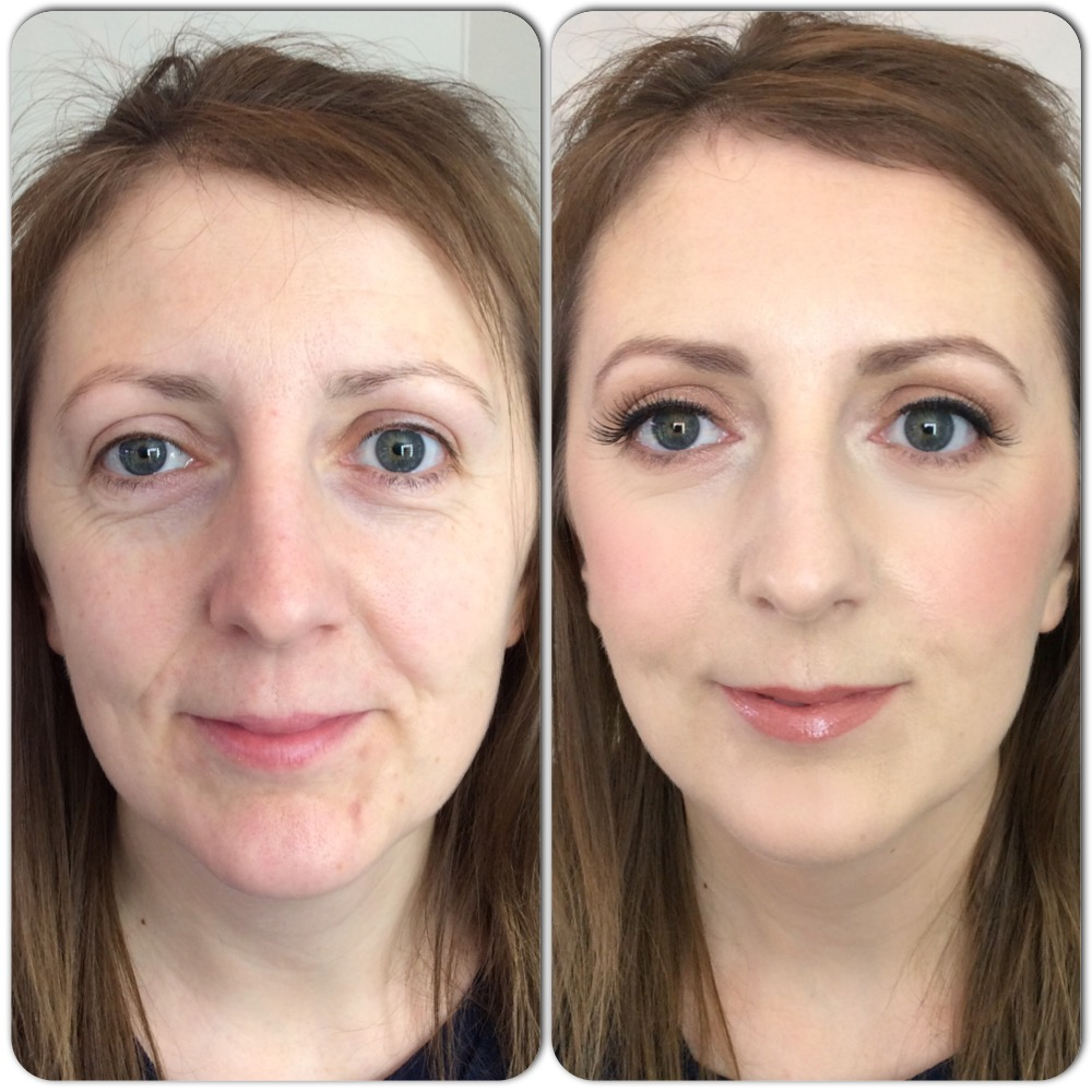 Permanent Make Up Lidstrich Schlupflider Before And After 12. - Tina Brocklebank
