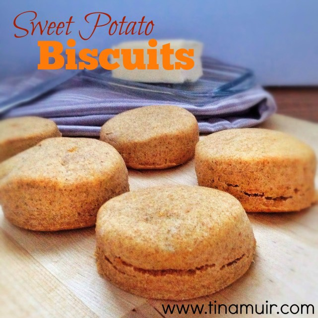 These sweet potato biscuits are a delicious, healthy side for your thanksgiving meal.