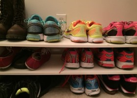 Saucony shoes Tina Muir