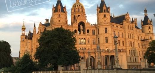 Schwerin_Schloss_Abendlicht