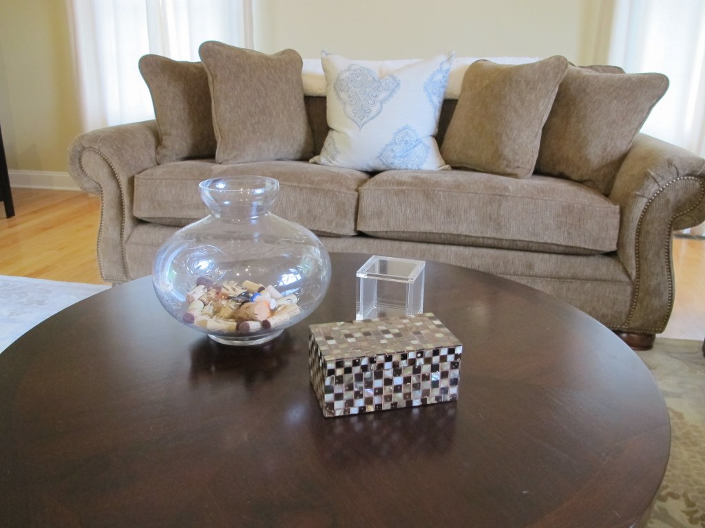 Simple Coffee Table Decor Simple Coffee Table Decor Tina 39s Chic Corner