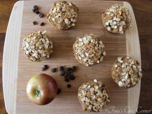 04Apple Raisin Whole Wheat Muffins
