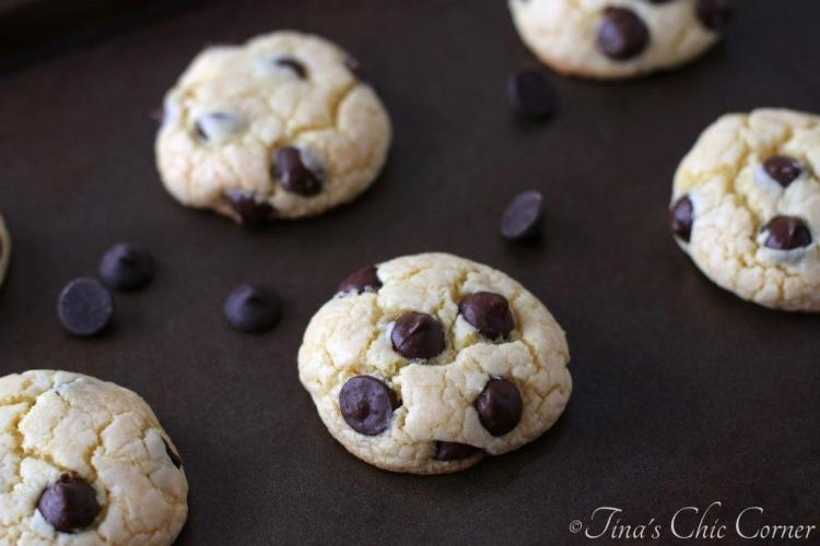 03Cake Mix Dark Chocolate Chip Cookies