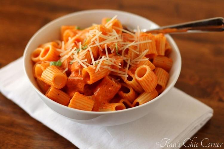 04Roasted Red Pepper Pasta