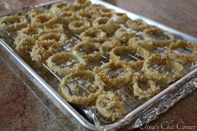 03Crispy Baked Onion Rings