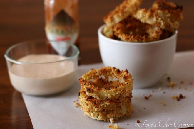 06Crispy Baked Onion Rings