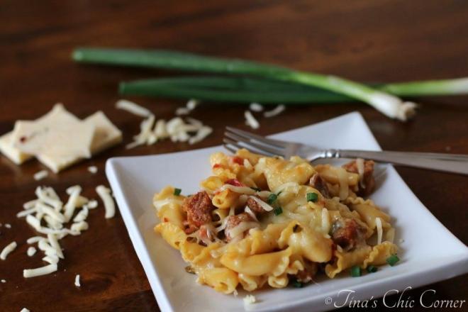 07Spicy Chorizo and Pasta