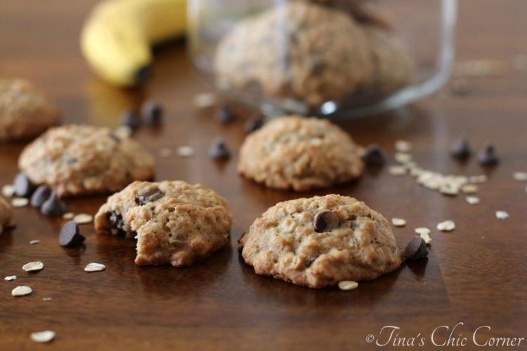11Banana Chocolate Chip Cookies