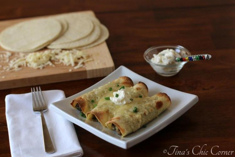 06Turkey and Spinach Taquitos