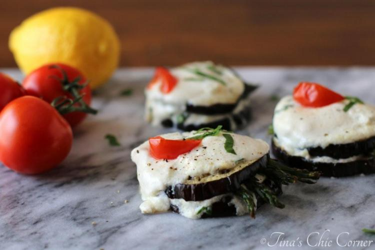 08Eggplant and Asparagus Napoleons