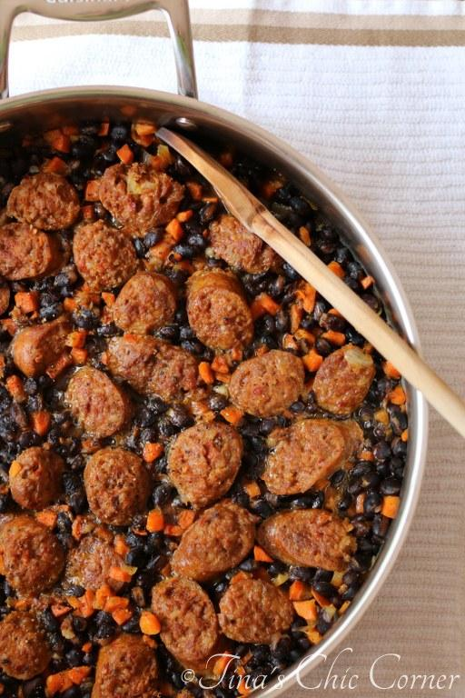 06One Pot Black Beans and Sausage