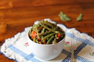 07Green Beans With Tomatoes