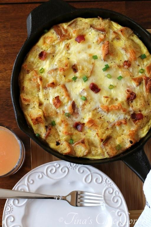 03Bacon, Egg, And Cheese Skillet Strata