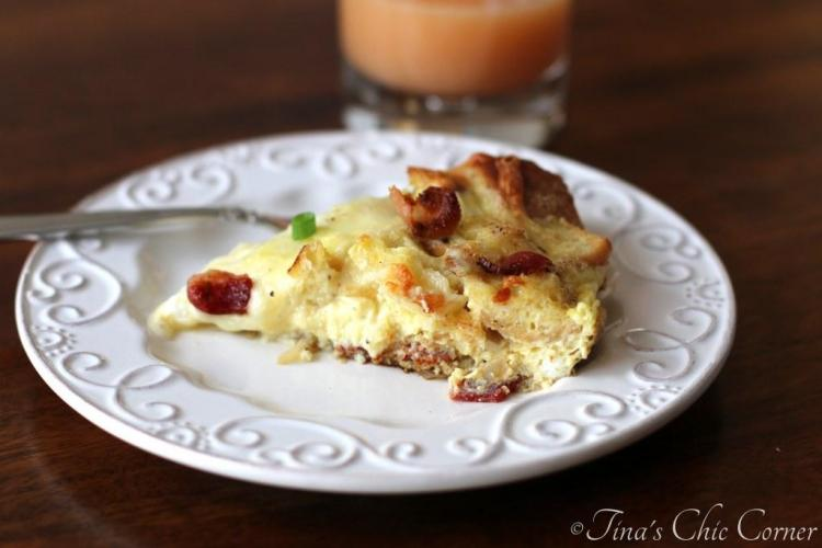 10Bacon, Egg, And Cheese Skillet Strata
