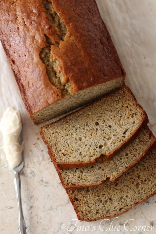 Light Orange Spice Banana Bread – Tina's Chic Corner