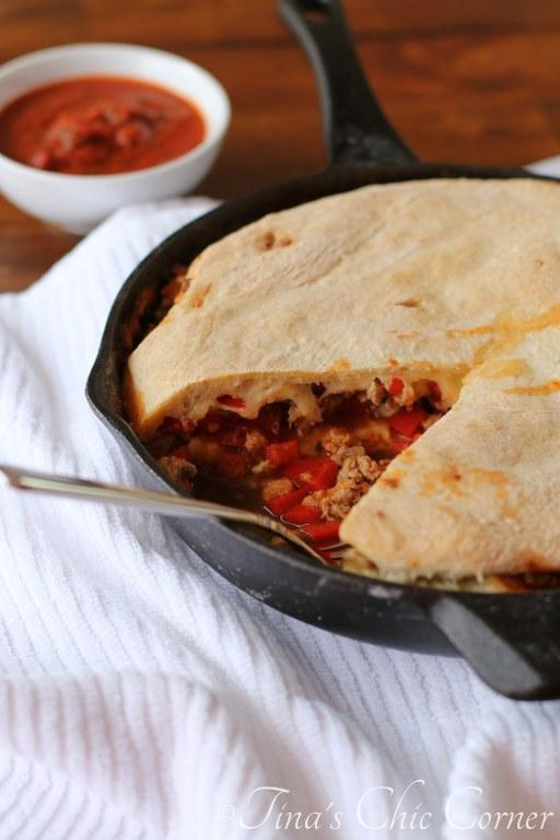 Skillet Calzone02