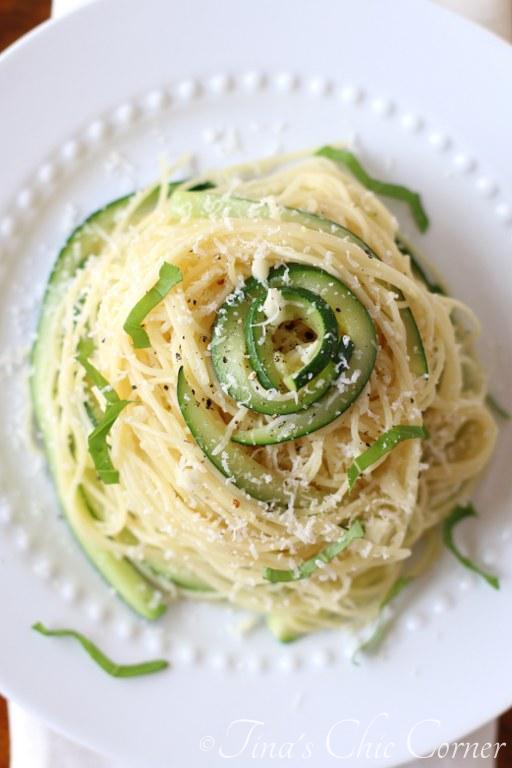Pasta, Zucchini & Garlic03
