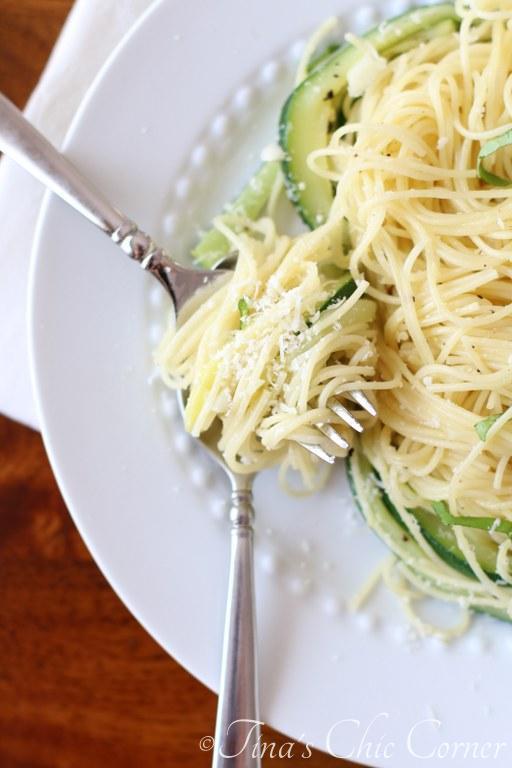Pasta, Zucchini & Garlic07
