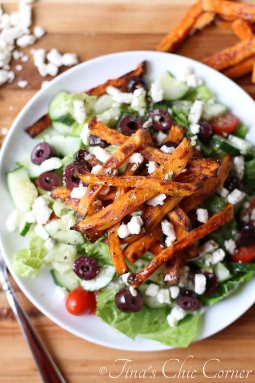 Greek Sweet Potato Fry Salad03