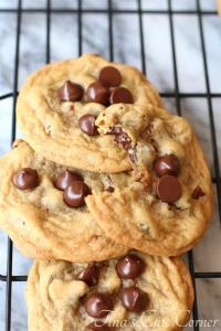 Dark Chocolate Chip Nut Cookies09