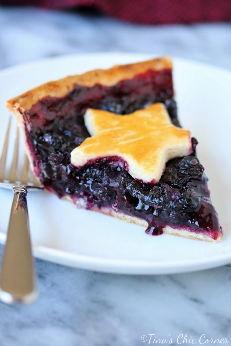 Accidental Cream Pie Cheap homemade blueberry pie – tina's chic corner