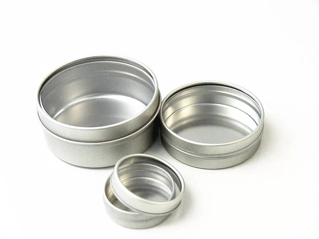 Tea Tins Offset Printing Round Small Tea Tins Containers Metal