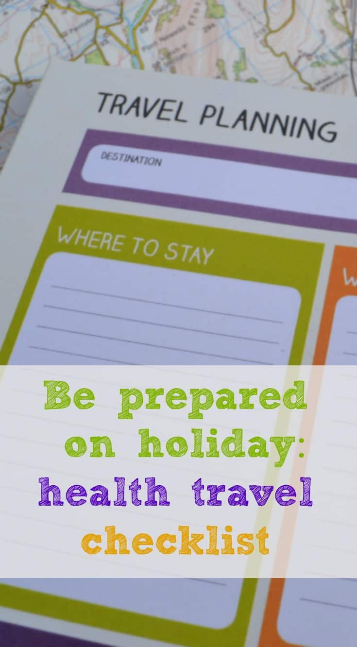 Jogger Baby City Tour Health Travel Checklist Be Prepared On Holiday Tin Box