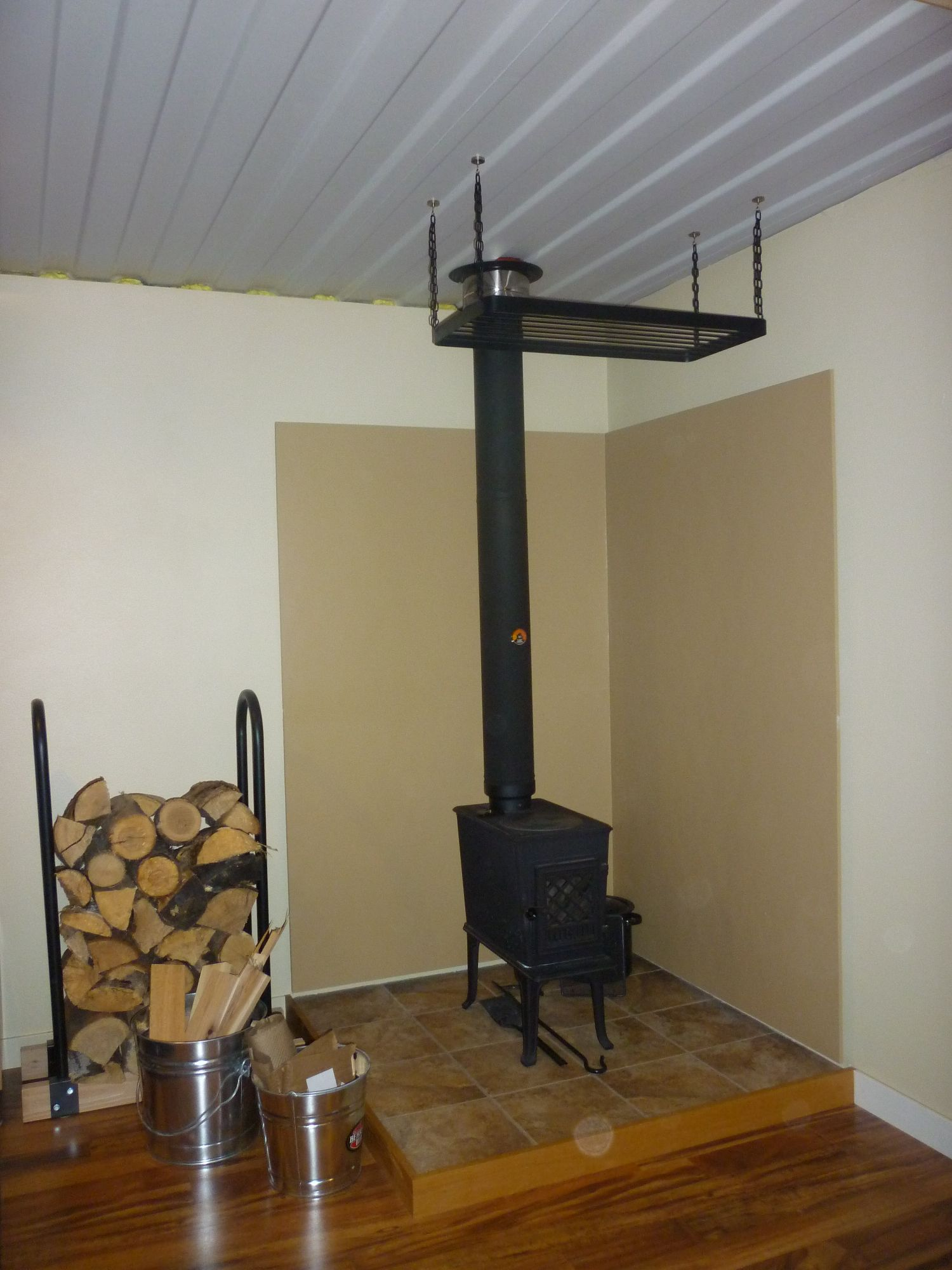Garage Heater Craigslist Wood Stove Redux Tin Can Cabin
