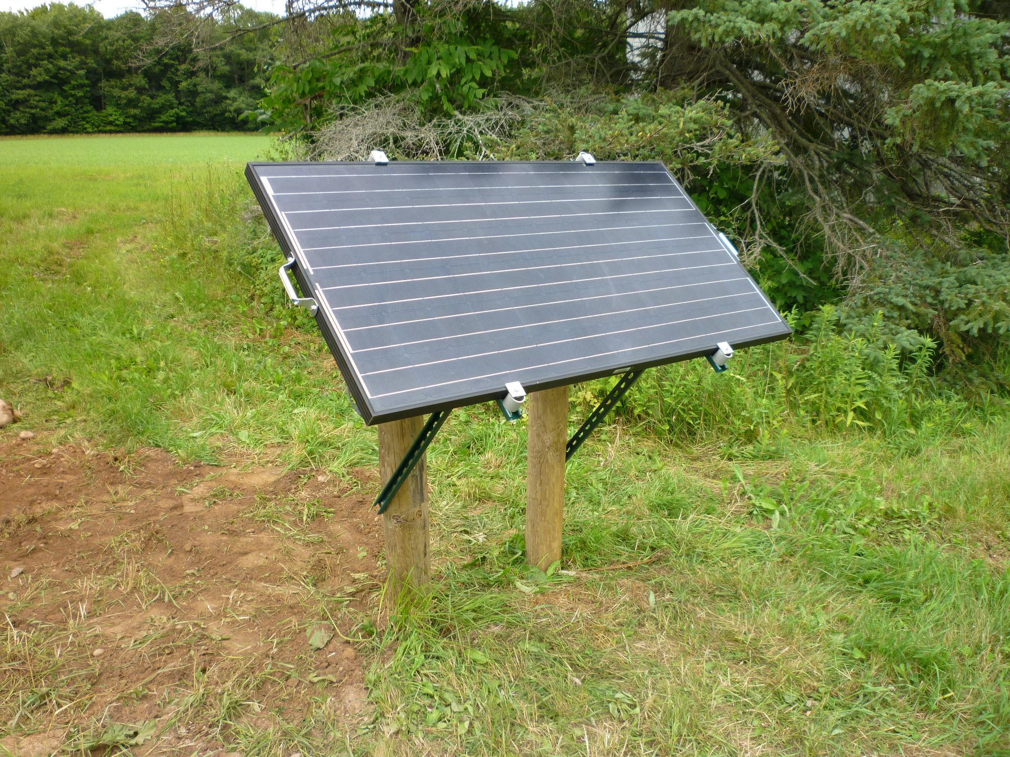 Diy Solar Panel Mount Solar Panel Ground Mount Diy George Mayda