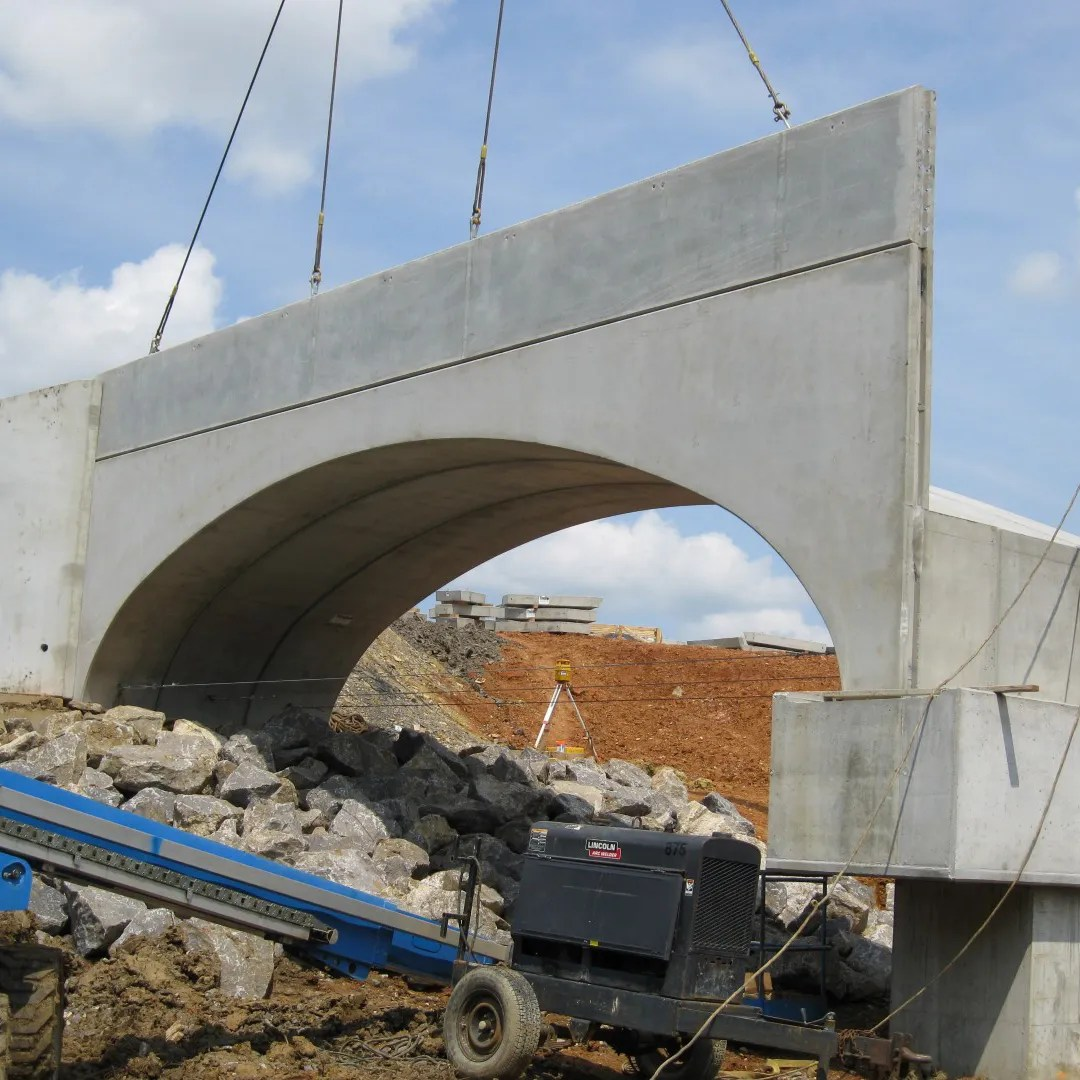 Precast Bridges Tindall Corporation Heavy Civil Precast Norfolk Southern