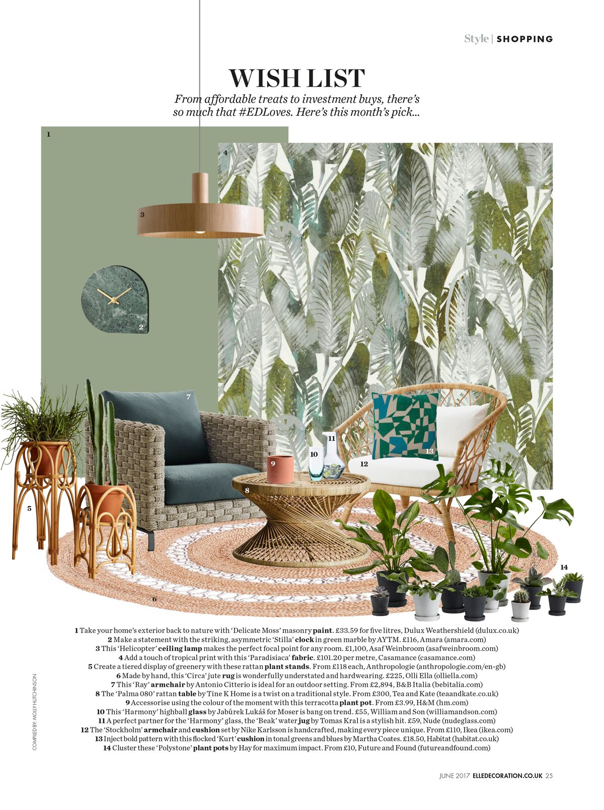 Elle Decoration Dk Press 2018 Tine K Home