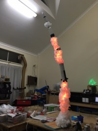 Cause Im a Rocket Lamp.   Tinkerings