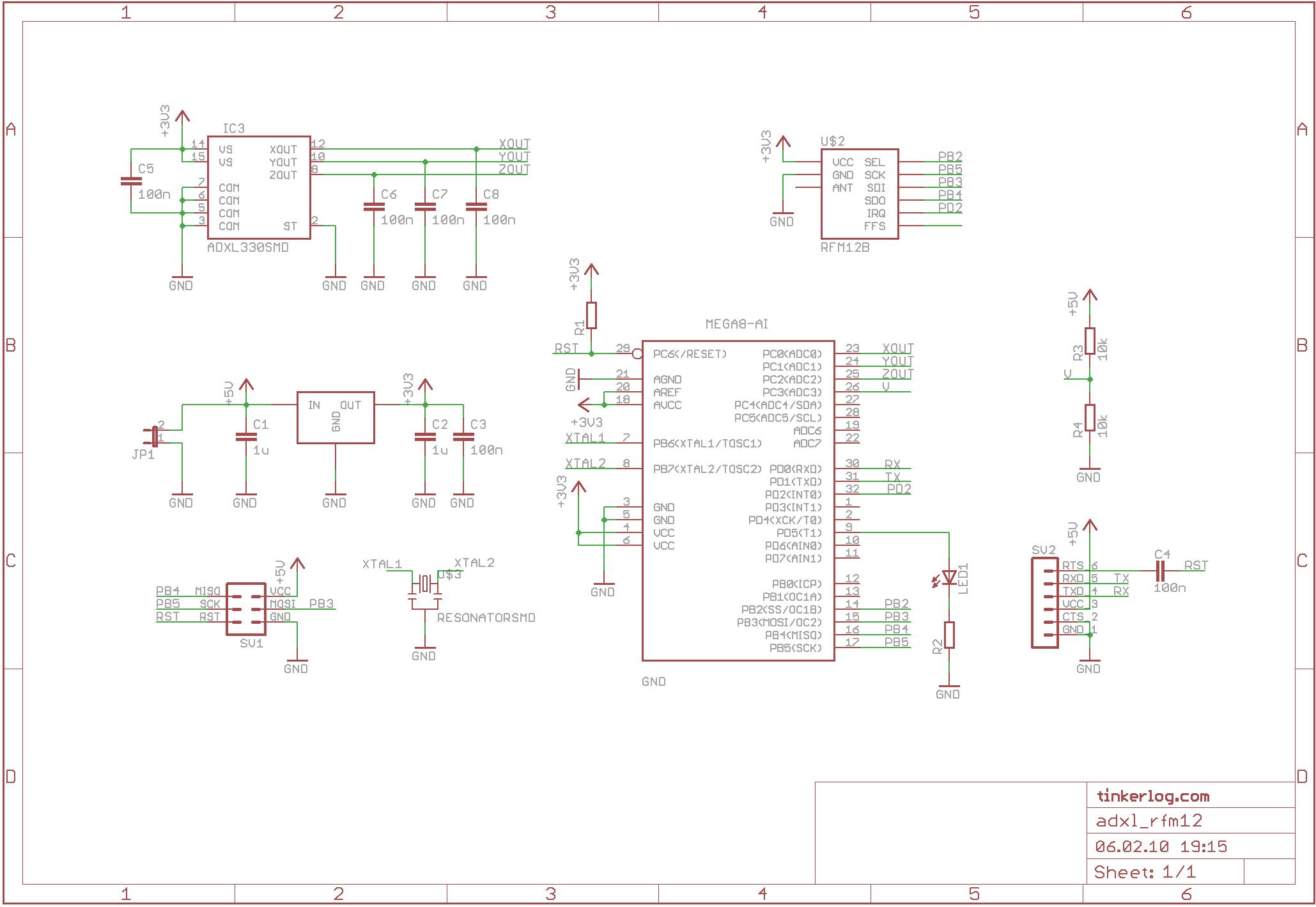 accelerometer schematic