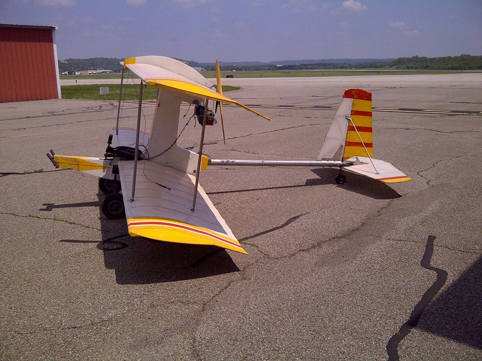 The Hovey Whing Ding Ii Ultralight Airplane Plans