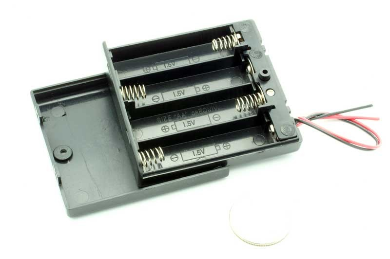 349 4 Aa Battery Holder With On Off Switch Tinkersphere