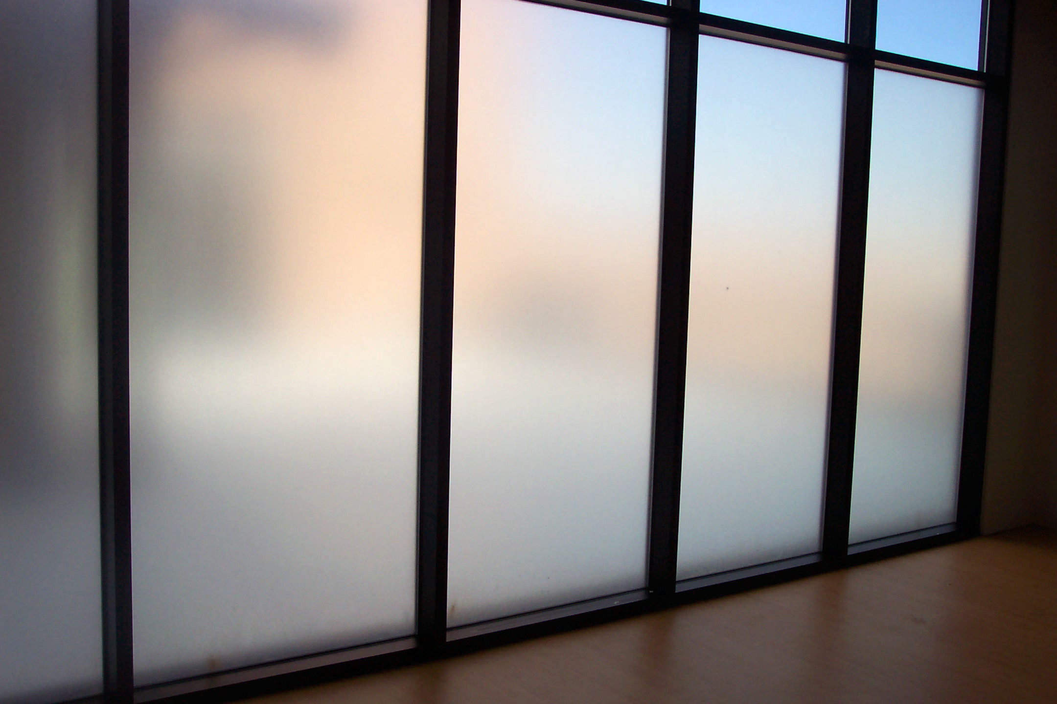 Translucent Window Film Frosted Glass Window Film Home Installation