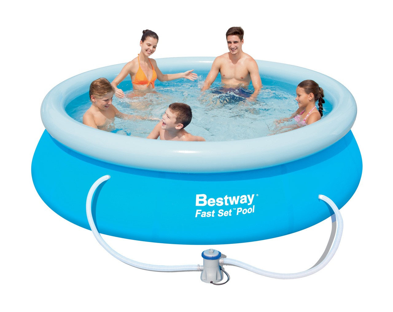 Bestway Pool Pumpe Zieht Luft Bestway Fast Set Pool 305x76cm M Filter Pumpe Tiny Butik