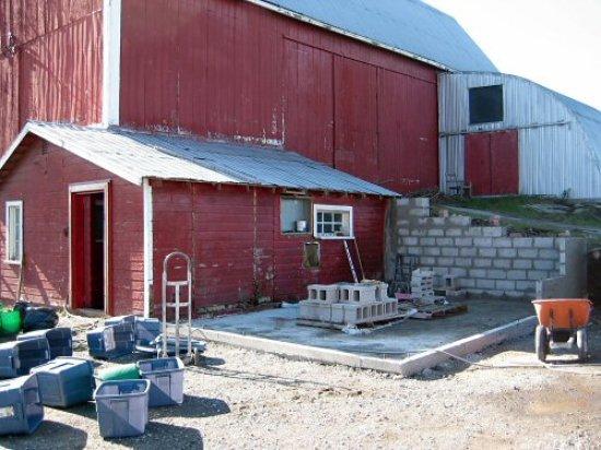 Milkhouse foundation