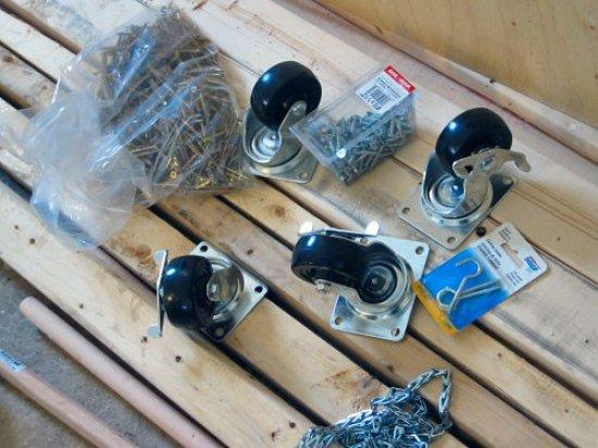 Grow rack parts