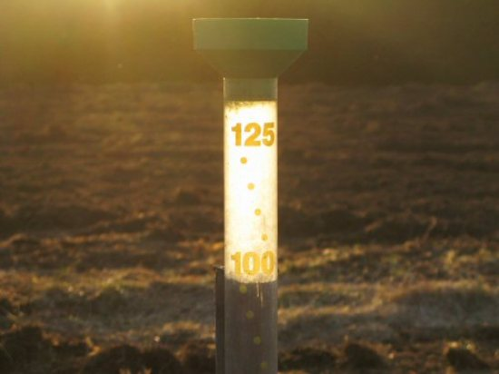 Jumbo rain gauge (125 mm)